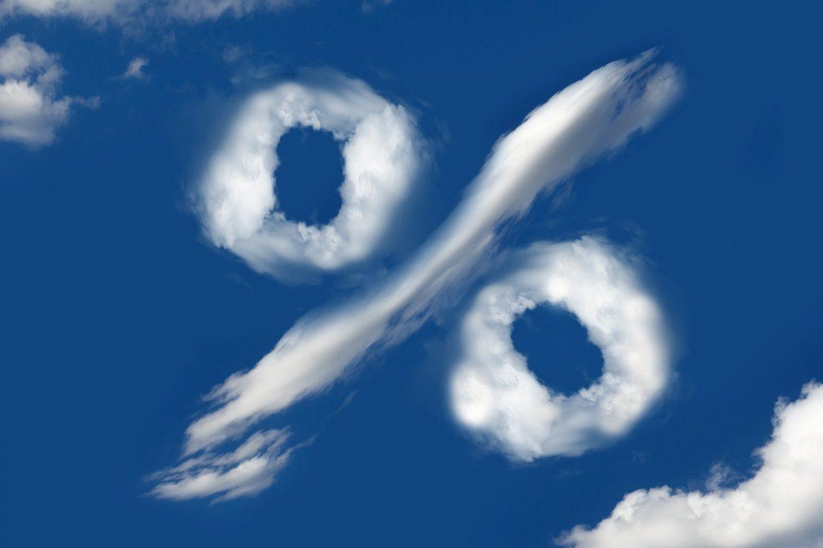 Percento v oblakoch